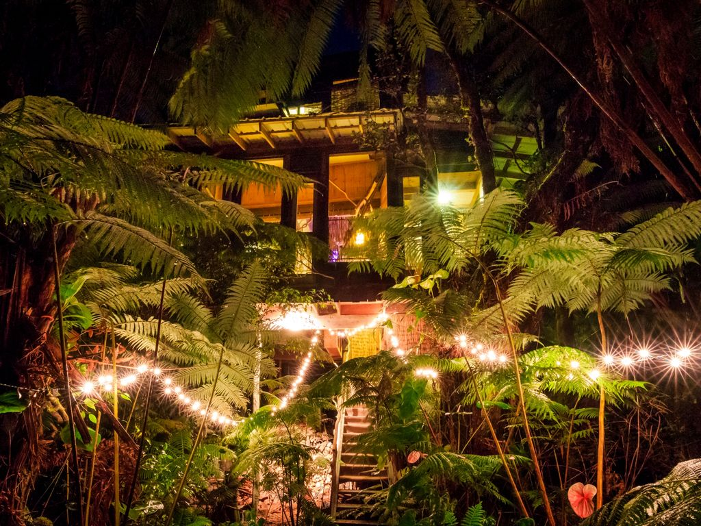 world class genuine treehouse in volcano n vrbo