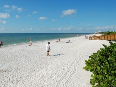 Photo for ULTIMATE BEACH GETAWAY! COMFY 1BR FAMILY SUITE, BALCONY, TENNIS, POOL, PARKING