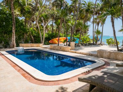 Photo for Los Primos is the best ocean front villa w/pool, in a secure gated community