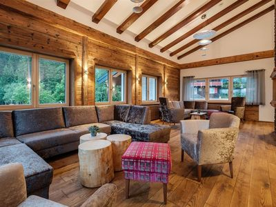 Photo for Holiday house, bath, toilet, 4 or more bedrooms - Bergchalet Baad