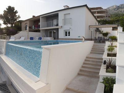 Photo for Villa Vinka is situated in Brela, 50 km south from Split