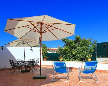 Photo for Viilla surrounded by greenery 1 km from the sea and adjacent to the town.