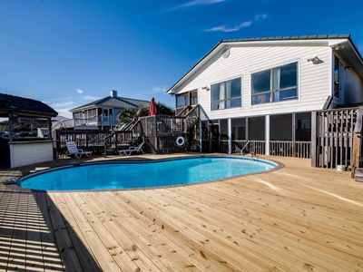 Photo for Cancellation SPECIAL June 1-8, 2019 PRIVATE pool & only 100 yds to Beach