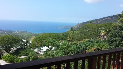 Photo for Private Home: 3bed/1bath with best views in all Hawaii.  1.5 acre estate 4 you.