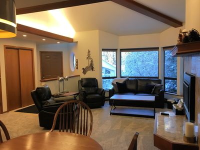 Photo for Girdwood Top Floor Cozy 2 bd/2 bth Condo, location base of Challenge Bldg & Mtn