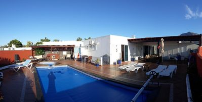 Photo for Extremely Private Villa, Electrically Heated Pool & Jacuzzi, In The Beautiful Ar