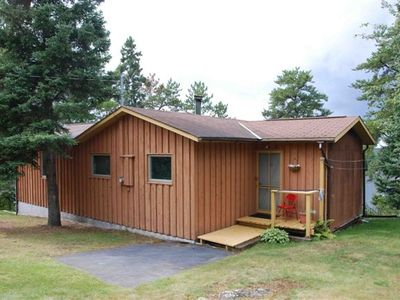 Photo for Lake of the Woods Lakefront Cottage for Rent