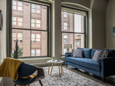 Photo for Incredible 1BR Apt Near City Market w/ Pool + Gym
