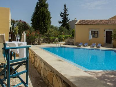 Photo for Heliopetra independant studios -village close to beaches -sharing a large pool
