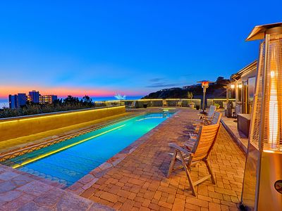 Photo for Jewel Above La Jolla Shores - 4 Bed 4.5 Bath Heated Pool Ocean View