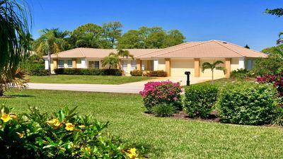 Photo for Spanish Wells, Bonita Springs, FL pool home with open golf course views