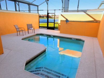 Photo for GATED RESORT COMMUNITY, FREE WIFI, LAKE FRONT, NEXT TO CLUBHOUSE!!