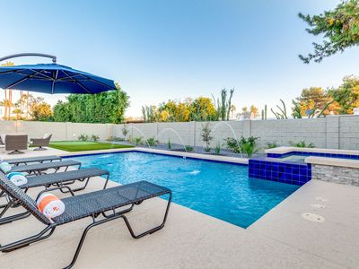 Photo for Luxury Scottsdale home w/ Heated Pool, Spa, Putting Green, fire pit, & more!