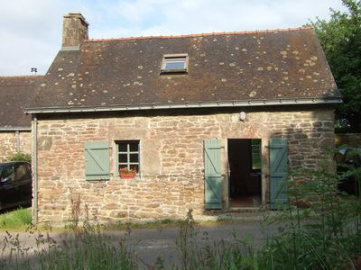 Photo for A Charming Breton Stone Cottage. Ideal for 2. YOU  WILL BE ABLE TO SELF ISOLATE.