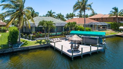Photo for SW Cape Coral W/front - quick gulf access life is full of choices, choose wisely
