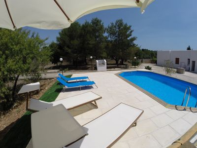 Photo for Villa Flora with private pool three bedrooms and three bathrooms in S. M. di Leuca