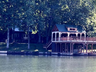 Get on one of our kayaks or canoe and paddle out for this Little Lakemont view!
