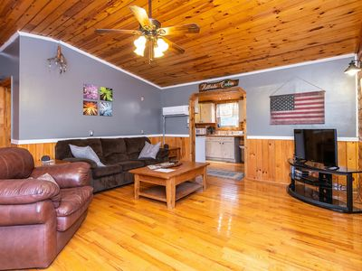 Photo for WiFi & Pet-Friendly - Small Family Cabin - Eclectic Hillside - Getaway to Red River Gorge, KY!