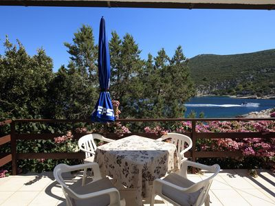 Photo for Apartment Grozdana  - Cove Pokrivenik, Island Hvar, Croatia