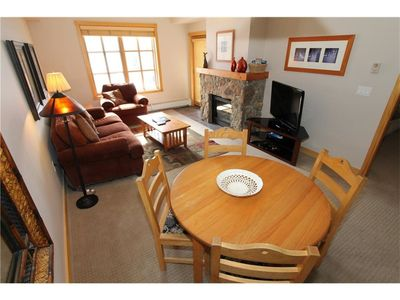 Photo for Gorgeous 1 Bedroom 1 Bath Condo in Center Village, Copper Mountain