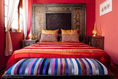 The master bedroom, perfect to relax.