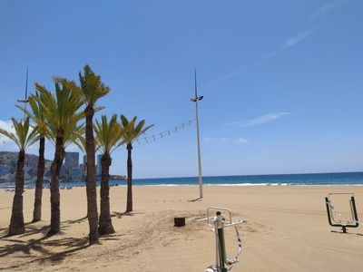 Photo for Apartment Palmeras Playa Levante First Line in Benidorm - 4 persons, 2 bedrooms