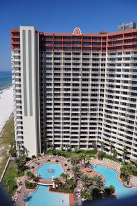 Photo for Beautiful Shores of Panama Beachfront 2 BedRms, Bunk, 3 Baths, Reserved Parking.