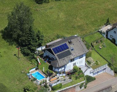 Photo for Exclusive **** apartment in the Black Forest near Europapark, with pool and panoramic views