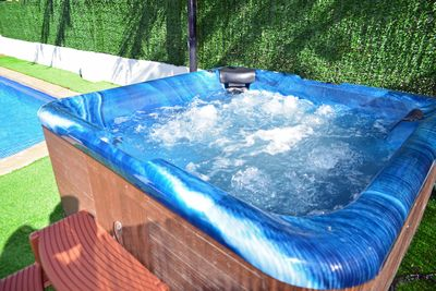 Jacuzzi Hot Tub. Climb in and Relax.