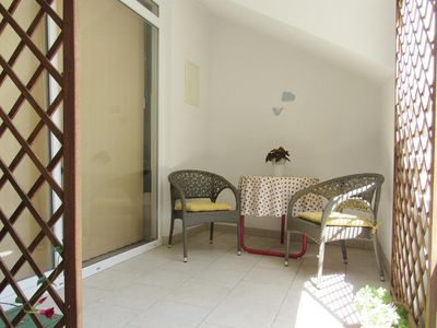 Photo for Studio flat with terrace Baška Voda, Makarska (AS-6707-b)