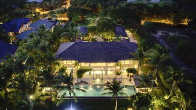 Photo for Oceanfront Golf Course Estate w Infinity Pool + Guest House at Puntacana Resort