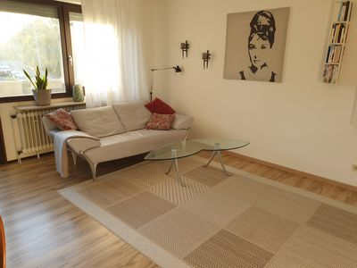 Photo for cozy, sunny, centrally located - 2 room apartment with balcony in the countryside