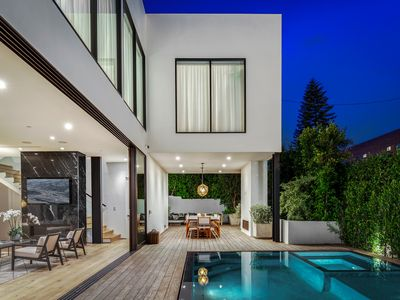 Photo for West Hollywood Villa with Pool within walking distance of the The Grove