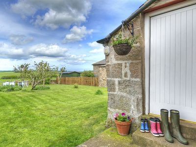 Photo for Cosy cottage perfect for exploring beaches, castles and Berwick area