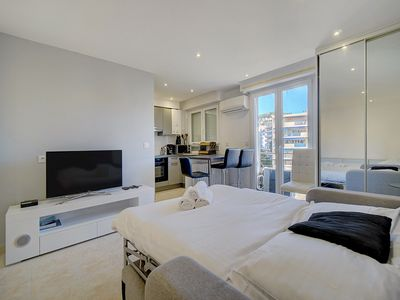 Photo for IMMOGROOM- Cozy - Cannes Center- A/C - Close to the sea - CONGRESS/BEACHES