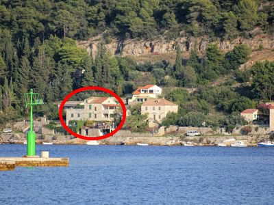 Photo for Apartment in Vis (Vis), capacity 2+0