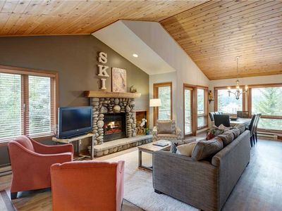 Photo for SKI IN/SKI OUT or Walk to Village! Private Hot Tub&Garage! Spacious&Open!