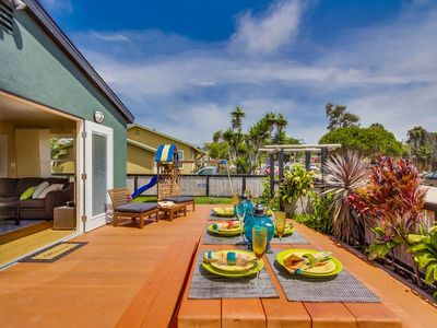 15% OFF to 6/15 - Beach Cottage, Walk to Water+Amazing Outdoor Living