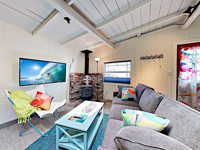 Photo for New Listing! Adorable & Airy Updated Beach Cottage w/ Patio & New Kitchen
