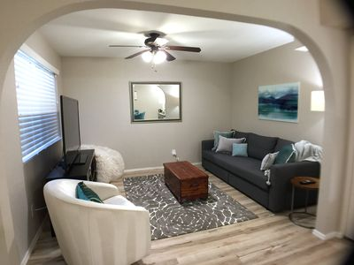Photo for the Stylish Saguaro sleeps 6, pool, pet friendly, close to Cubs, Athletics, ASU