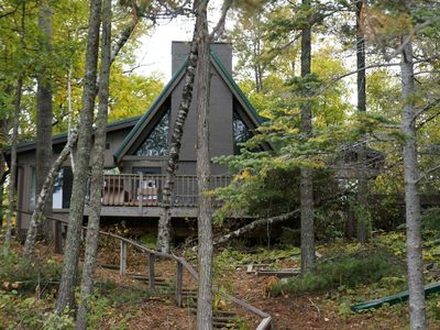 Rustic A-Frame cabin with all the modern amenities. Come enjoy Leech Lake.