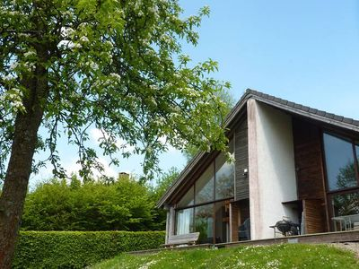 Photo for Pleasant chalet on the heights of Malmedy.