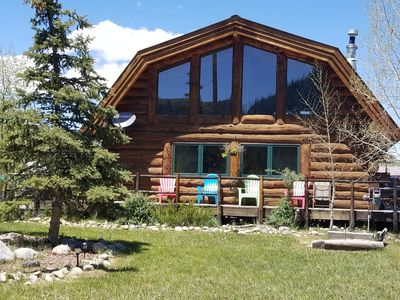 Photo for ALMONT/ Crested Butte Area Home - Horse Friendly w/Hot Tub