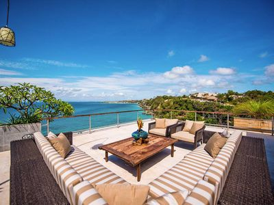 Photo for Ocean Cliff Edge 4 Bedroom  Villa . The Luxe Bali Ultra Luxury  Residence