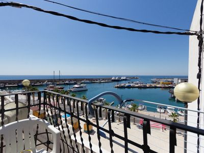 Photo for BALCONY WITH VIEWS TO THE HARBOUR AND WIFI_BALMES 22