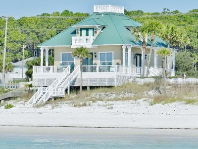 Photo for Luxury 3BR Beachfront Home, Wrap Around Porch, Views From All Rooms