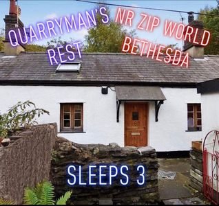 Photo for Quarryman's Rest Nr Zip World - A cosy cottage for 3