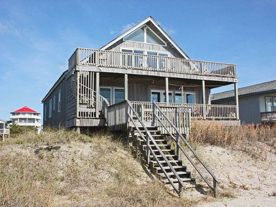 Photo for The Tides Whole House: 6 BR / 3 BA home in Oak Island, Sleeps 20