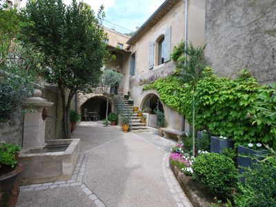 Photo for Character village house in a quiet hamlet near Uzes