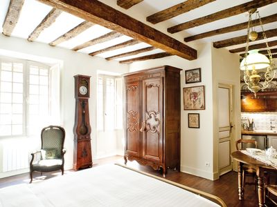 Photo for In the heart of old Sarlat, Les Suites Sarladaises, the charming Griffin studio